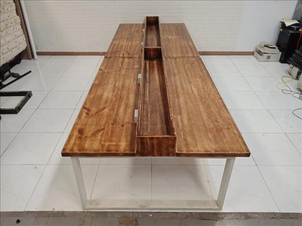 Bàn họp gỗ thông SP010240