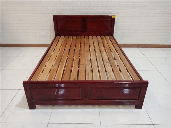 Giường gỗ Xoan đào cũ SP010137.1