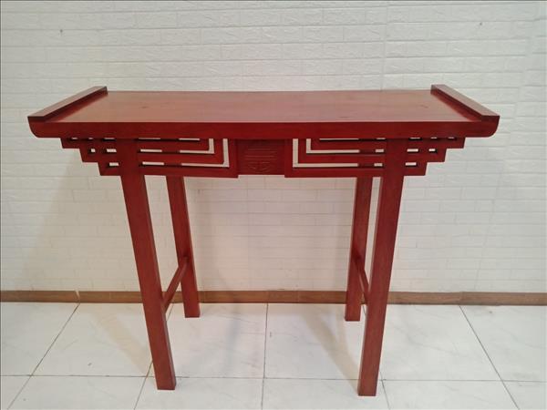 Bàn thờ gỗ Gõ đỏ cũ SP010254