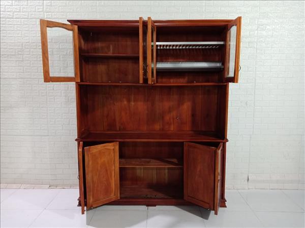 Tủ bếp gỗ Xoan đào cũ SP010399