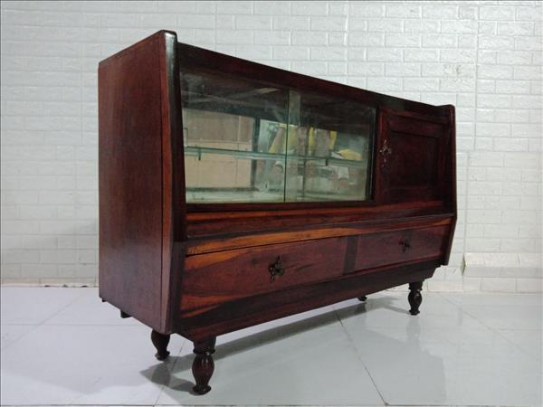 Tủ búp phê gỗ Gõ đỏ cũ SP010078