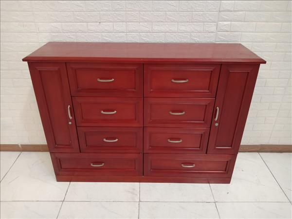 Tủ commost gỗ cao su cũ SP010220