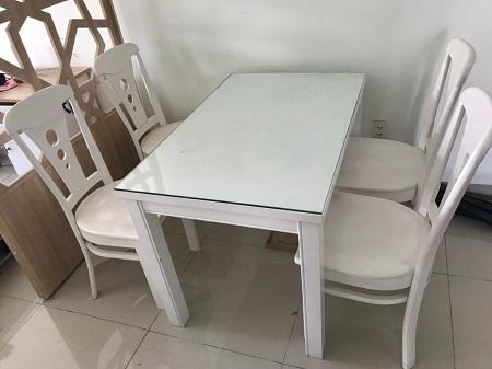Bộ bàn ăn cũ SP014491