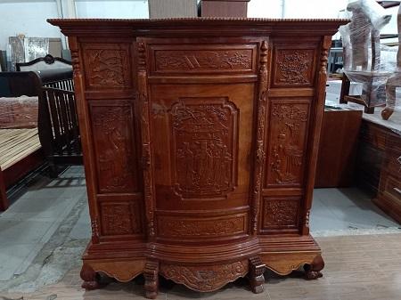 Tủ thờ gỗ Căm xe cũ SP014407