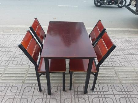 Bộ bàn ăn cũ SP014496