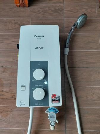 Máy tắm nước nóng  Panasonic DH-3JP4 cũ SP014516