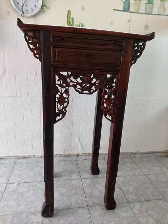 Bàn thờ gỗ tự nhiên cũ SP014524