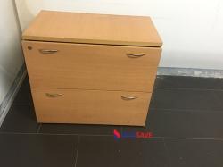 Tủ hồ sơ thấp 2 ngăn cũ
