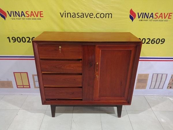 Thanh lý Tủ quần áo cũ chất liệu gỗ Cẩm Lai và Gỗ Hương cao cấp - 5039