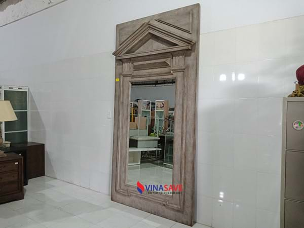 Gương gỗ cũ SP002055