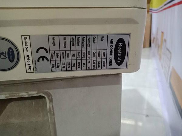 Máy lạnh REETECH RT9-BM5 cũ SP003613