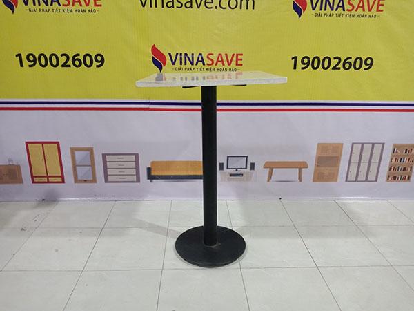 VinaSave thanh lý Bàn cafe mặt đá đã qua sử dụng còn mới, giá tốt -4017