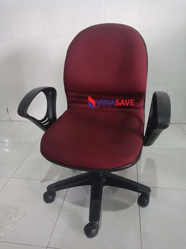 Thanh lý ghế xoay cũ khung nhựa cao cấp, bọc nệm phần mặt ngồi và lưng tựa - 994