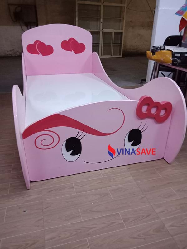 Thanh lý giường trẻ em cũ cực đẹp, chất lượng như mới giá rẻ - 719