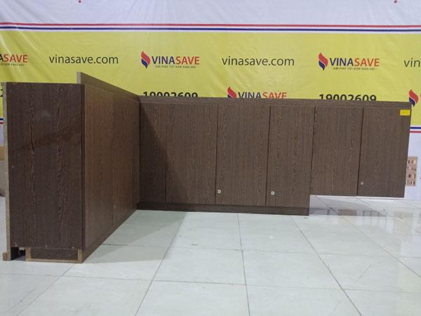 VinaSave thanh lý Kệ bếp cũ kiểu góc vuông sang trọng - 4427