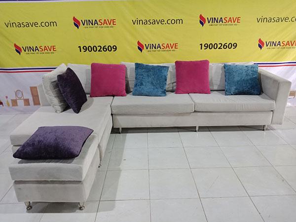 VinaSave thanh lý Sofa góc cũ chất lượng còn như mới, uy tín - 5489