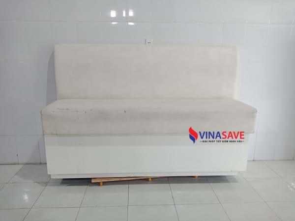 VinaSave thanh lýgiá tốt sofa cũ thiết kế kiểu băng dài khung gỗ - 1240