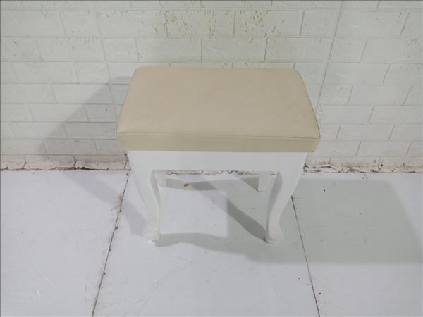 Ghế đôn gỗ cao su cũ SP010830
