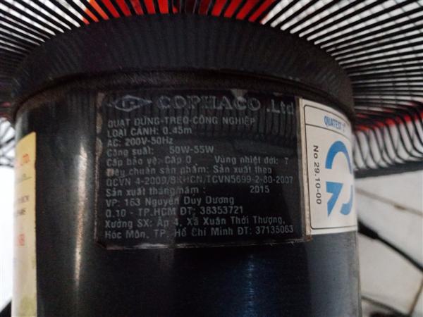 Quạt Cophaco cũ SP010715.1