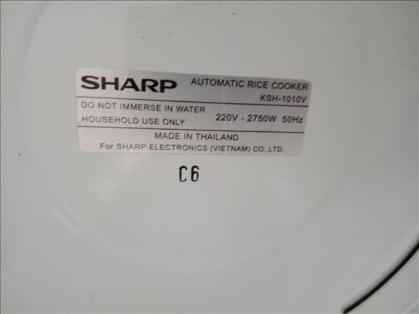 Nồi cơm điện Sharp KSH1010V cũ SP010740