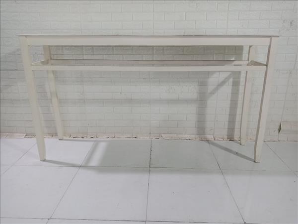 Bàn bar gỗ cao su cũ SP010605