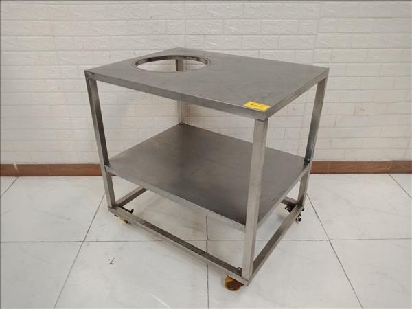 Bàn sơ chế inox cũ SP010565