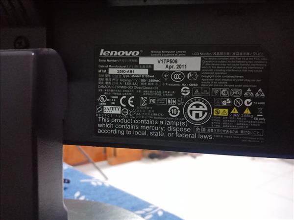 Màn hình máy tính Lenovo V1TP506 cũ