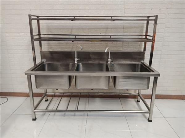 Bồn rửa chén inox cũ SP011101