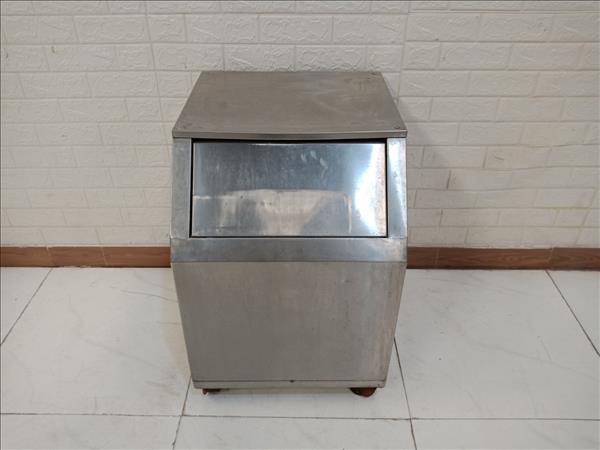 Thùng rác inox 304 cũ SP010581