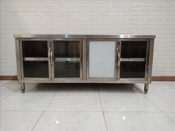 Tủ bàn thực phẩm inox cũ SP010570