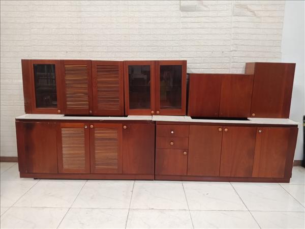 Tủ bếp gỗ Xoan đào cũ SP011124