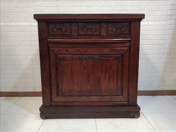 Tủ thờ gỗ Sồi Nga cũ SP010918