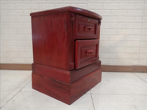 Tab đầu giường gỗ Xoan đào cũ SP011116