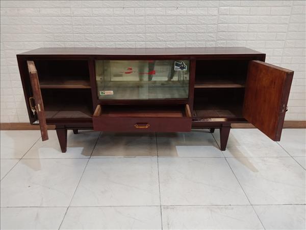 Tủ búp phê gỗ Gõ đỏ cũ SP010670