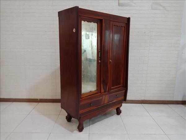 Tủ quần áo gỗ Gõ đỏ + Cẩm Lai cũ SP010654.2