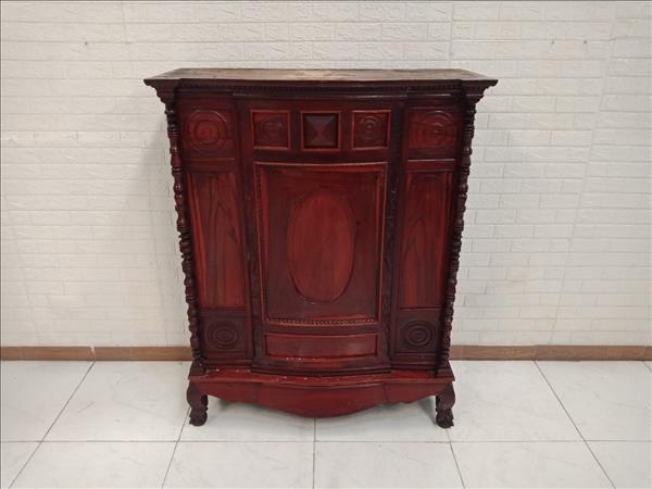Tủ thờ gỗ Gõ đỏ cũ SP010771