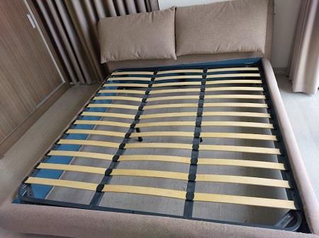 Giường vải + nệm cũ SP014698