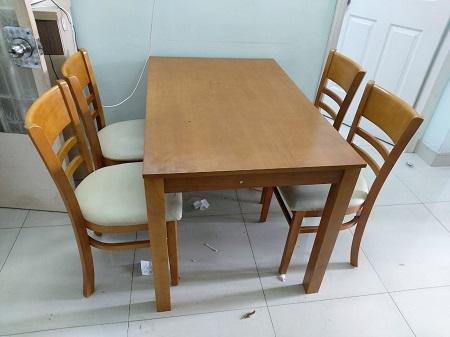 Bộ bàn ăn 4 ghế  cũ SP014765