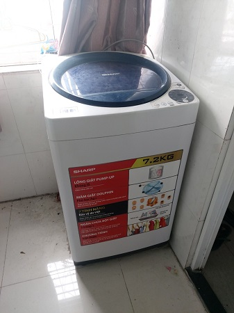 Máy giặt Sharp  7.2 kg ES-U72GV-G/H cũ SP014767