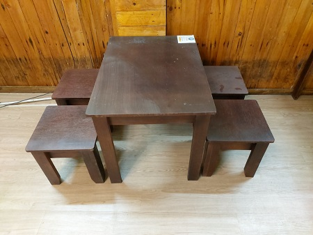 Bộ bàn ăn cũ SP014770