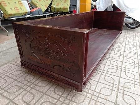 Băng sofa gỗ Căm Xe cũ  SP014760