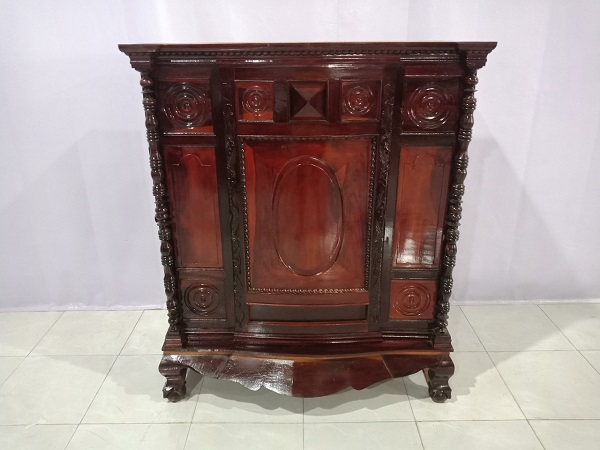 Tủ thờ gỗ Hương cũ SP005919
