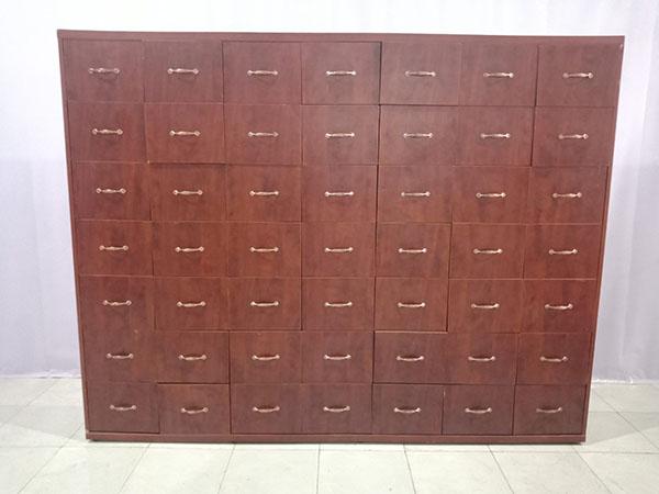 Thanh lý Tủ locker cũ chất liệu còn như mới, tủ từng được dùng ở tiệm thuốc, tiện dụng - 5656