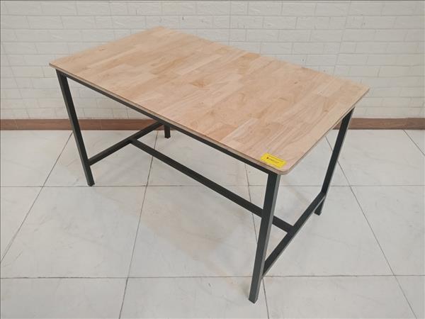 Bàn ăn gỗ cao su cũ SP011196