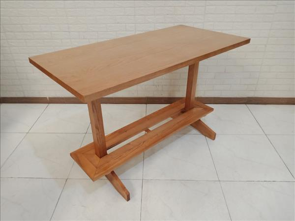 Bàn bar gỗ thông cũ SP011277