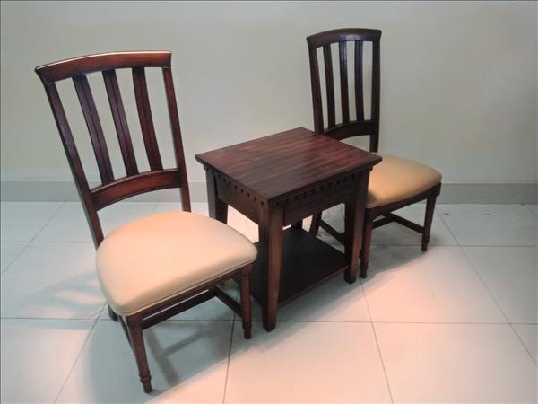 Bộ bàn trà gỗ tự nhiên cũ SP011463