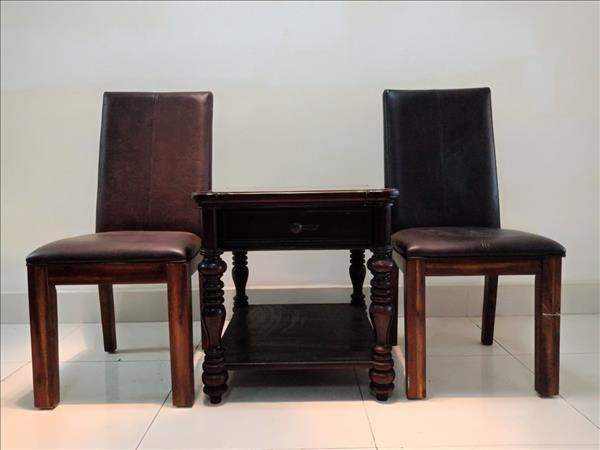 Bộ bàn trà gỗ tự nhiên SP011638
