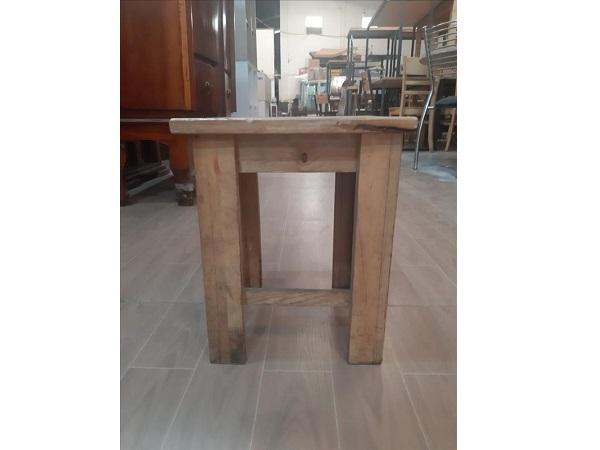 Ghế cafe gỗ cao su cũ SP011414