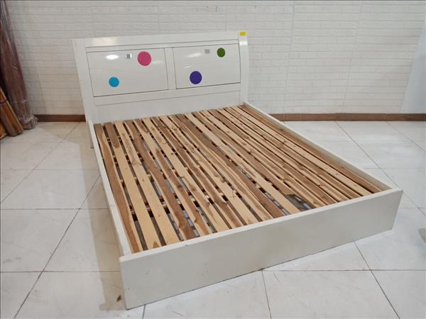Giường gỗ cũ SP011131