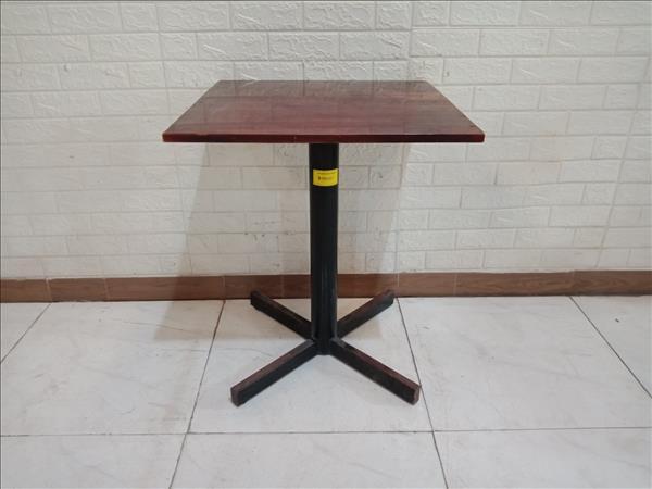 Bàn cafe gỗ cao su cũ SP011178.2